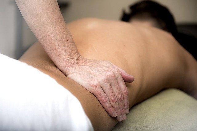 massage hernie discale